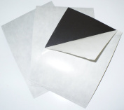 20cm x 25cm 60 mil Adhesive Magnet Sheets - 10 Pack - Thick Magnet