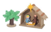 Foamies 3-D Nativity Foam Kit