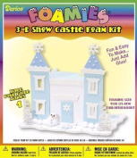 Foamies 3-D Snow Castle Foam Kit