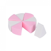 Shensee 8PCS Makeup Foundation Beauty Cosmetic Facial Face Sponge Powder Puff