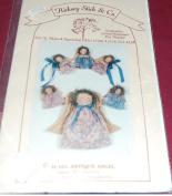Antique Angel Door Decoration, Treetop or Ornament