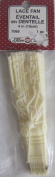 Fibre Craft PACK of 1 LACE FAN 10cm Long for DOLLS, CRAFTS or SEWING, or Whatever Preferred