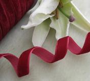 Chenkou Craft Velvet Ribbon DIY craft Accessory Appliques Sewing 1cm 18 colour Upick 20yards