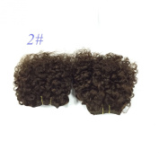 Brazilian virgin remy human hair extension for black women bebe curl 50g/pc,3pcs per lot
