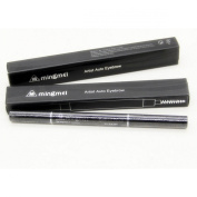 CY Eyebrow Pencil 2Pcs Waterproof Automatic Women Eyebrow Pencil Eyeliner Power Brush Makeup Tool,Black