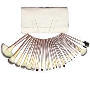 CY 24Pcs Professional Makeuo Brushes Set Wool Cosmetic Makeup Brush Set Kit Brushes & Tools Make Up Case