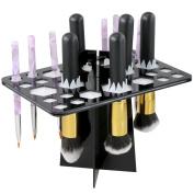 Yaheetech Folding Collapsible Makeup Brush Holder 7.9 x 13cm x 12cm