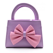 Aisa Little Girls Fashion Tote Handbag Adorable Bowknot Purse