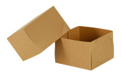 Natural Kraft 15cm - 1.3cm x 10cm Gift Box - 2 Piece, 10 Count