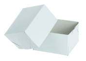 White Gloss 13cm x 7.6cm Gift Box - 2 Piece, 10 Count