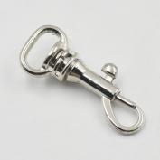 38 Pcs Swivel Clip Snap Hook Metal Scmimi inch 0.6cm Nickle
