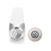 ImpressArt- 6mm, Volleyball Metal Stamp