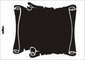 UMR-Design W-231 Parchment Textil- / wallstencil Size A4