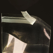 7.6cm . x 13cm . Flat Cellophane Bags with Adhesive Closure - pack of 200