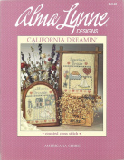 Alma Lynn Designs Counted Cross Stitch Brochure California Dreamin' and American Dream ALX-42