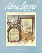 Alma Lynn Designs Counted Cross Stitch Brochure Dixieland and 100% Cotton Old South ALX-40