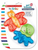 Scholastic Teether, Gel Friends