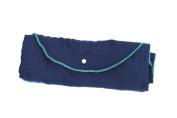 Poncho Baby Organic Blanket, Roly Blanket, Emerald/Navy Blue