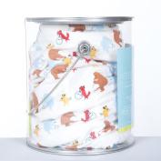 KicKee Pants Print Crib Sheet, Boy Parade