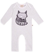Cute Toddler Baby Girls Boys Fox Romper Bodysuit Outfits One-pieces