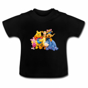 NuWaWa Custom Winnie The Pooh And Tigger Too Logo Baby Toddler T-Shirt