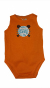 "Jumping Beans Baby Boys Embroidered ""Daddy's Baseball All Star"" Bodysuit, 9 Months, Orange"