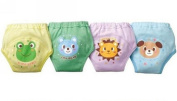 Baby Toddler 4 Layers Washable Nappy Potty Training Pants