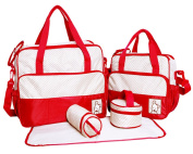 New 5pcs 7 colours Hot sale free shipping aardman fashion stroller nappy bag HY-T823