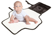 Baby Portable Changing Pad w/ Detachable Storage - BabySpec's Travel Change Station Kit - Black