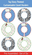 Toy Story Themed Plastic Closet Dividers - Infant Closet Dividers