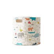 Storage Bins - Noah's Ark Animal Print