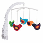 Halo Bassinest Swivel Sleeper Bassinet Mobile, Whimsical Birds