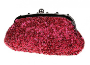 Womens Sequined Evening Bags Party Clutch