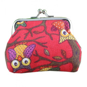 Wallet,toraway Fashion Vintage Women Lovely Style Small Coin Pockets Wallet Hasp Owl Purse Clutch Bags Handbags