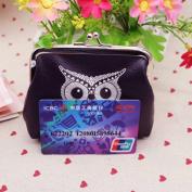 Franterd®Womens PU Leather Owl Wallet Coin Handbag