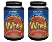 MRM All Natural Whey Dutch Chocolate 0.9kg [2 Pack]