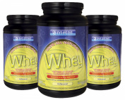 MRM All Natural Whey Unflavored 0.9kg [3 Pack]
