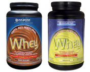 MRM All Natural Whey Dutch Chocolate 0.9kg/Unflavored 0.9kg