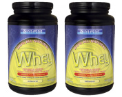 MRM All Natural Whey Unflavored 0.9kg [2 Pack]