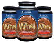 MRM All Natural Whey Dutch Chocolate 0.9kg [3 Pack]
