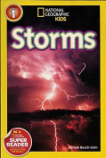 Storms (1 Hardcover/1 CD) (National Geographic Readers