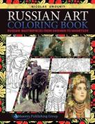 Russian Art Coloring Book