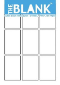 The Blank Comic Book Panelbook - 9-Panel, 7x10, 127 Pages