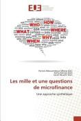 Les Mille Et Une Questions de Microfinance [FRE]