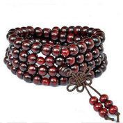 Yosoo® Sandalwood Buddhist Buddha Meditation 6mm*108 Prayer Bead Mala Bracelet/Necklace
