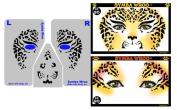 Face Painting Stencil - StencilEyes Symba Wroo - Cheetah