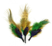 Touch of Nature 38117 Feather Pick, 8.9cm , Mardi Gras