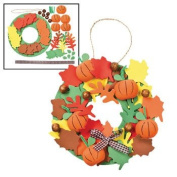3D Pumpkin Wreath Craft Kit - Crafts for Kids & Decoration Crafts