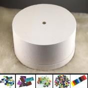 Large Microwave Kiln Kit 5 Bags Fusing Glass & Large Kiln for Glass Fusing