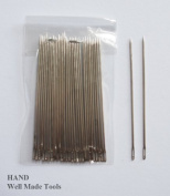 "C2 Easy to Thread 4.8cm/1.9"" Thin Hand Sewing Needles- Pack of 30 Pcs"